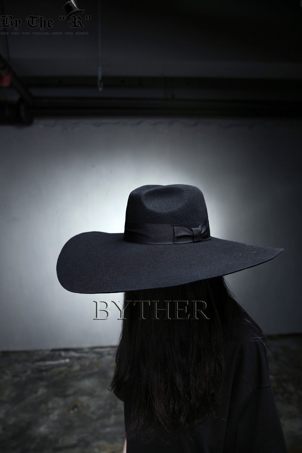 Details about ByTheR Unisex Modern Chic Classic Floppy Wide Brim 100% Wool Fedora  Witch Hat UK 773f85cd2f3