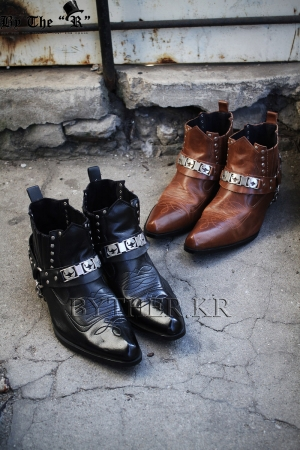 Strap western Boots